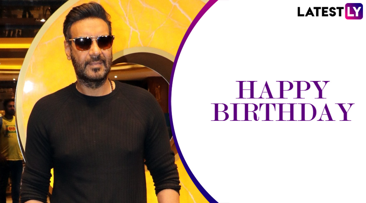 Ajay Devgn Birthday: 5 Much-Loved Roles of The Actor That One Should Definitely Watch!