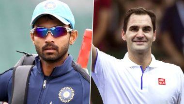 Ajinkya Rahane Picks Tennis As Favourite Sport Besides Cricket, Says 'Love Watching Roger Federer'