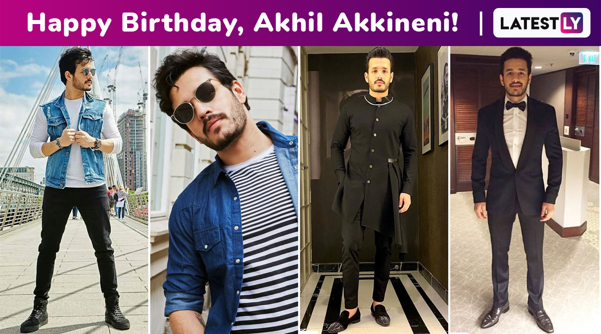 Happy Birthday, Akhil Akkineni! A Little Bit of Casualness Here, Some Dapperness There, but Oodles of Boyish Charm Is What We Love the Most!
