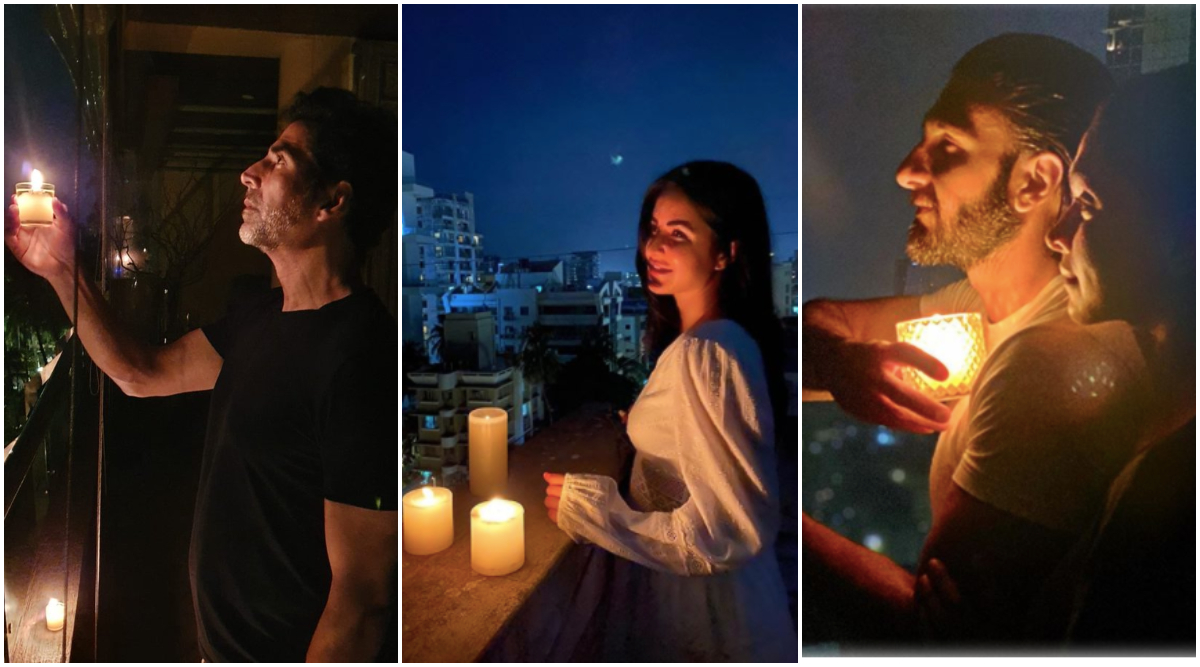 Akshay Kumar, Katrina Kaif, Ranveer-Deepika and Other Celebs Light Candles for PM Narendra Modi's '9 PM 9 Minutes' Appeal to Stand United Against COVID-19 Darkness