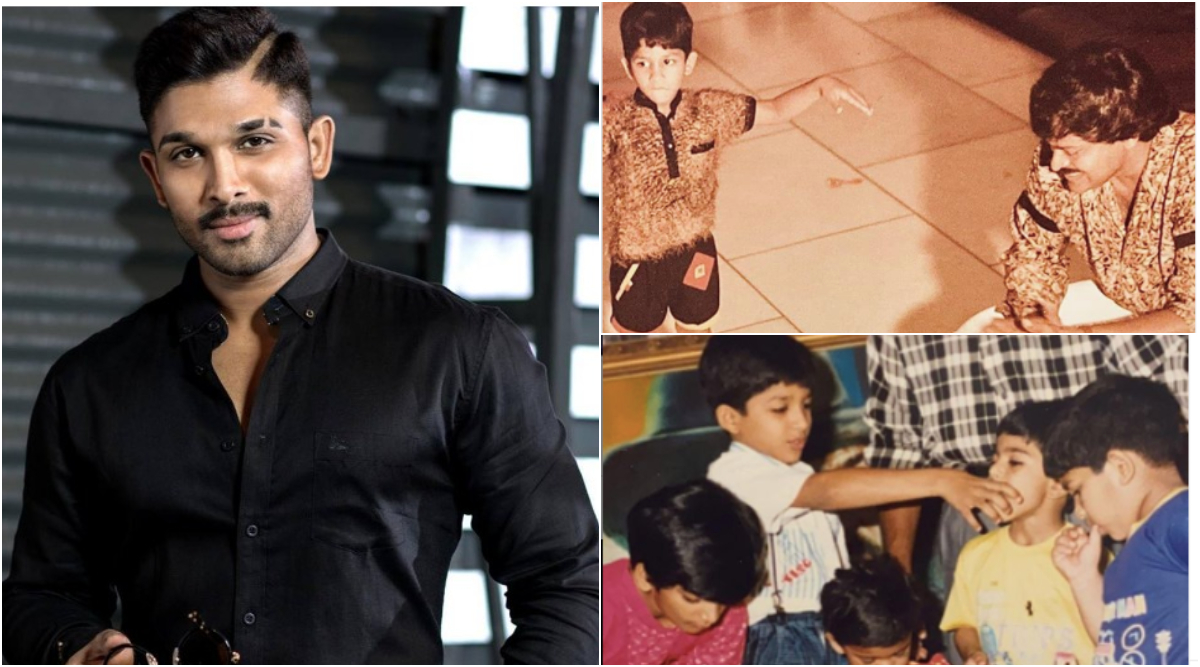Ram Charan, Chiranjeevi Wish Allu Arjun on His Birthday With Cute Throwback Pictures from His Childhood