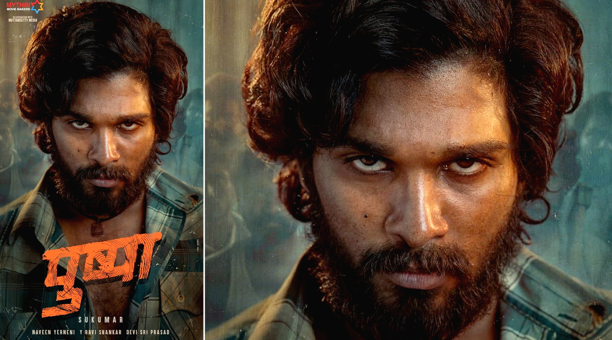 Pushpa First Look: Allu Arjun Dons a Fierce Avatar in Sukumar's Upcoming Actioner, Leaves Fans Impressed With This Special Treat on His Birthday (View Pic)