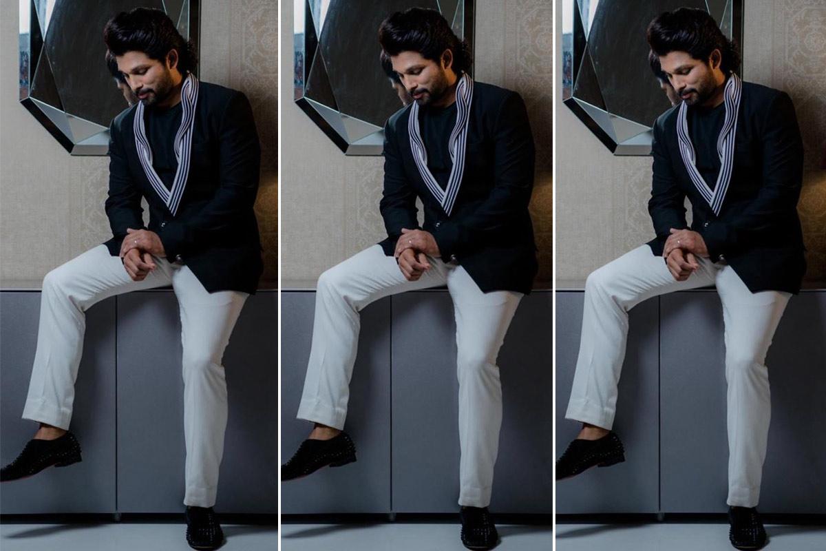 Allu Arjun Monochrome Fashion Moments