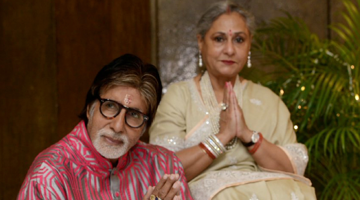 Amitabh Bachchan Thanks One and All For Wishing His Wife Jaya Bachchan On Her 72nd Birthday (View Pic)