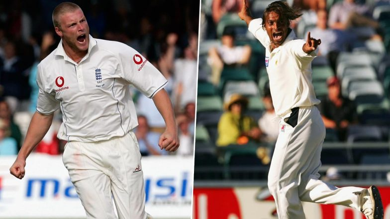 'You Look Like Tarzan but Bowl Like Jane': Andrew Flintoff Reveals Hilarious Sledging Incident With Shoaib Akhtar