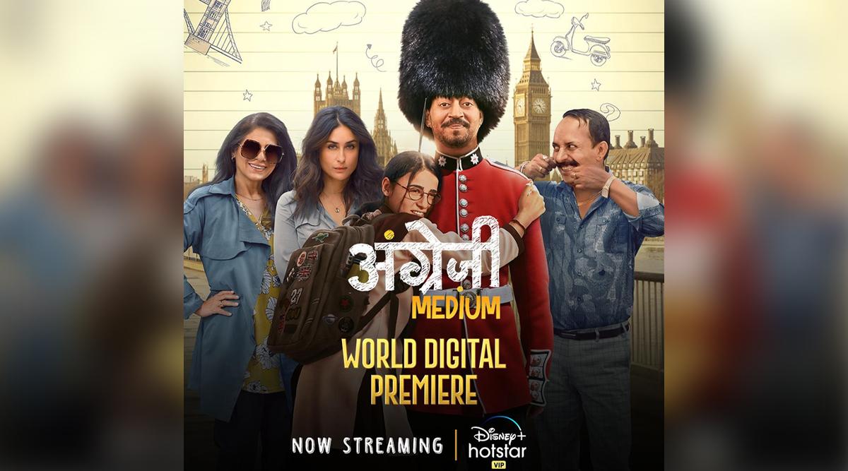 Irrfan Khan Starrer Angrezi Medium Arrives On Disney Plus Hotstar VIP!