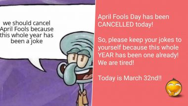 April Fools' Day 2020 Funny Memes Trend Online With Netizens Calling Out The Year As A Joke Itself