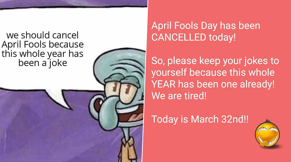 April Fools' Day 2020 Funny Memes Trend Online With ...