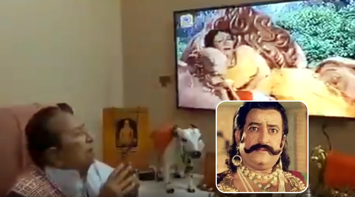 Ramayan's Original Ravan, Actor Arvind Trivedi, Apologises to Viewers After Watching 'Sita Apaharan' Episode of the DD National Show (Watch Video)
