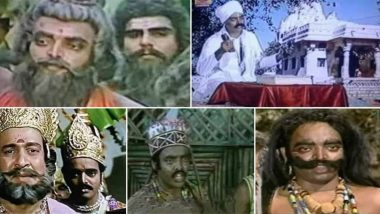 Who Is Aslam Khan AKA Duggal Sahab of Ramayan? Here's Everything About Versatile Actor Who Has Stunned Twitterati Playing Multiple Roles in Doordarshan's Mythological Show