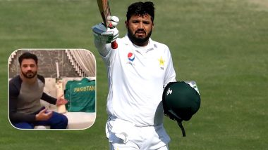 Pakistan Test Captain Azhar Ali Auctions Cricket Bat, Jersey to Raise Funds for Those Affected by Coronavirus Pandemic