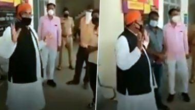 Suresh Tiwari, BJP MLA From Uttar Pradesh, Tells People Not to Buy ...