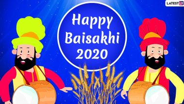Baisakhi 2020 Images & HD Wallpapers for Free Download Online: Wish Happy Vaisakhi With WhatsApp Stickers and GIF Greetings on Punjabi New Year
