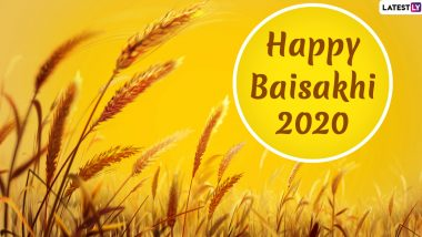Happy Baisakhi 2020 HD Images With Punjabi Wishes: Send Vaisakhi WhatsApp Stickers, SMS, GIF Greetings, Quotes and Messages on Sikh New Year