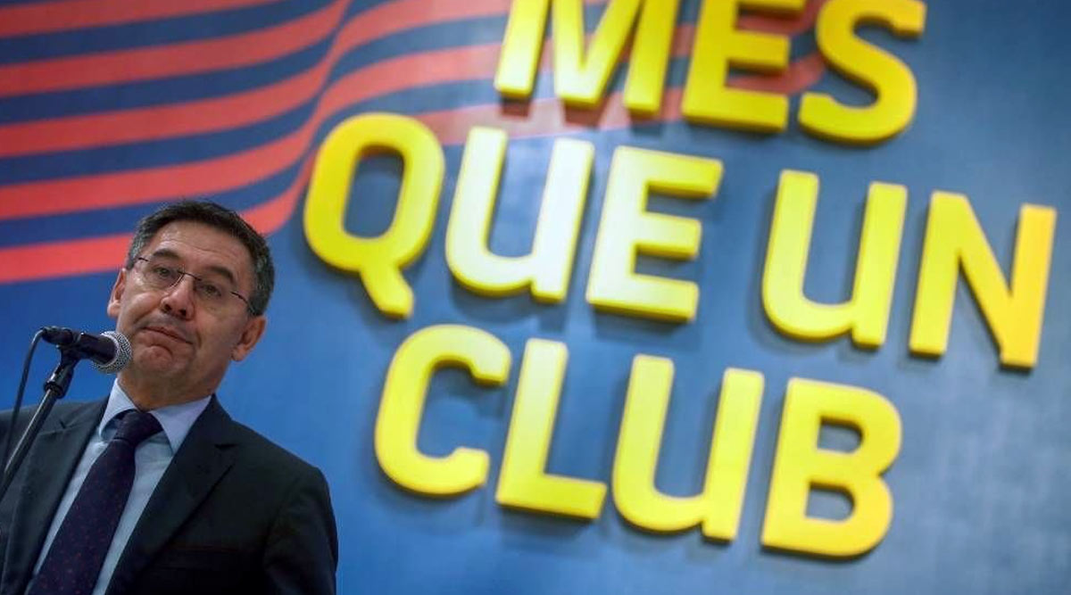 Barcelona in Chaos As Six Board Members Resign After Falling Out With President Josep Maria Bartomeu Over Club's Mismanagement