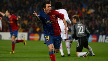 This Day, That Year: When Lionel Messi Inspired Barcelona to 4–0 Win Over Bayern Munich in 2008–09 UEFA Champions League Season