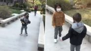 Cute Video of Two Little Best-friends Reuniting With a Tight Hug After Months of Lockdown in Beijing Will Leave You With a Smile