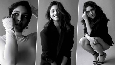 When Bhumi Pednekar Had Us Gazing at Her Monochrome Photoshoot for Elle!