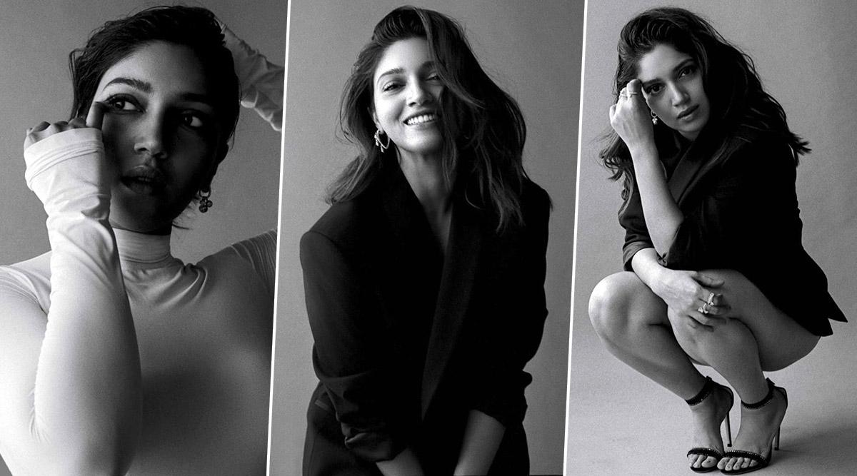When Bhumi Pednekar Had Us Gazing at Her Monochrome Photoshoot for Elle!