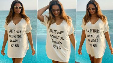 Bipasha Basu's Salty Hair, Coconut Oil, Big Waves, Hot Sun All Express a Tropical State of Mind!