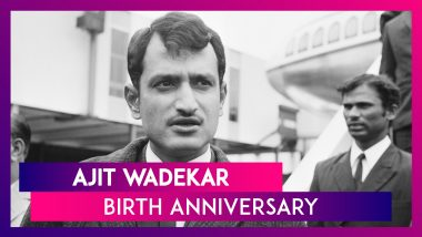 Ajit Wadekar Birth Anniversary Special: Facts To Know About India's Former Test Captain