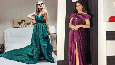 Blanket Challenge Goes Viral on Instagram, Users Stylishly Drape Themselves in Blankets and Look Fashionable, Check Pics