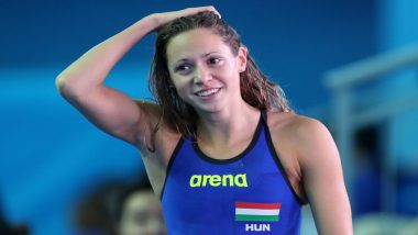 Boglarka Kapas, Hungarian Swimming Champion, Diagnosed with COVID-19