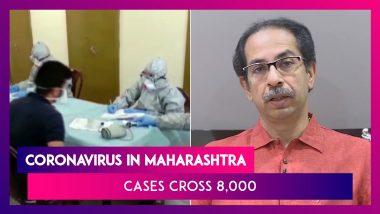 Coronavirus In Maharashtra: 8068 Cases With 342 Deaths; Uddhav Thackeray Says 80% Cases Asymptomatic