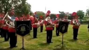 CRPF Band in Haryana's Gurugram Spreads Awareness Through 'Corona Ko Harana Hai' Song, Watch Video