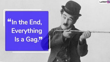 Charlie Chaplin Quotes to Observe His 131st Birth Anniversary: 5 Famous Sayings to Remember The Great Comedian