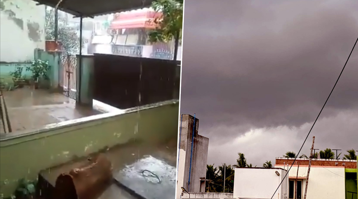 #ChennaiRains Trend Online After Cool Showers Bring Much-Needed Respite to Southern City From Heat, Netizens Share Pics & Videos