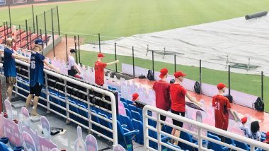 Chinese Professional Baseball League Sees Robot Mannequins and  Cardboard Cutouts Cheer For Them as Humans Stay Indoors! See Pictures From Taiwan Stadium