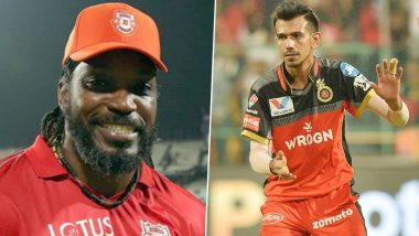 Chris Gayle Mercilessly Trolls Yuzvendra Chahal, Says 'I Am Gonna Block You on TikTok'