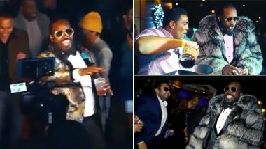 Chris Gayle Shares Unseen Clip of '40 Shades of Gayle' from his New York Birthday Party, Universe Boss Seen Partying at a Club (Watch Video)