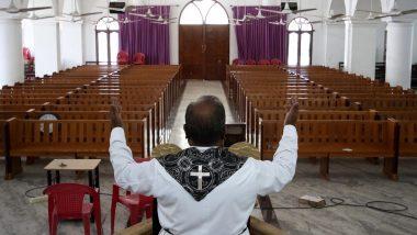 Amid Coronavirus Lockdown, Easter 2020 Midnight Prayers Held Without Congregation at Church in Panaji