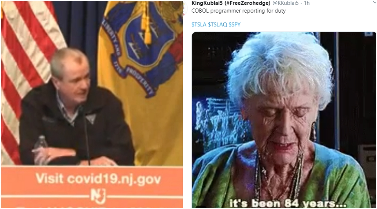New Jersey Governor Needs COBOL Programmers as 'COVID 19 Response Volunteers' to Fix Unemployment Insurance Systems, Gets Trolled on Twitter For Demanding Outdated Technology