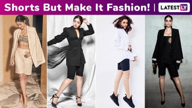 When Deepika Padukone, Sonam Kapoor Ahuja, Ananya Panday and Bhumi Pednekar Took the Cycling Shorts Out for a Spin With Oodles of Sophistication!
