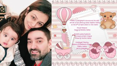 Left Right Left Actress Deeya Chopra Mehta and Husband Ritchie Mehta Welcome Baby Girl Sophia (View Post)