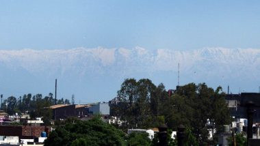 Harbhajan Singh Shares Glimpse of Dhauladhar Mountain Range From His House in Jalandhar and It Is Incredibly Beautiful! (View Pic)
