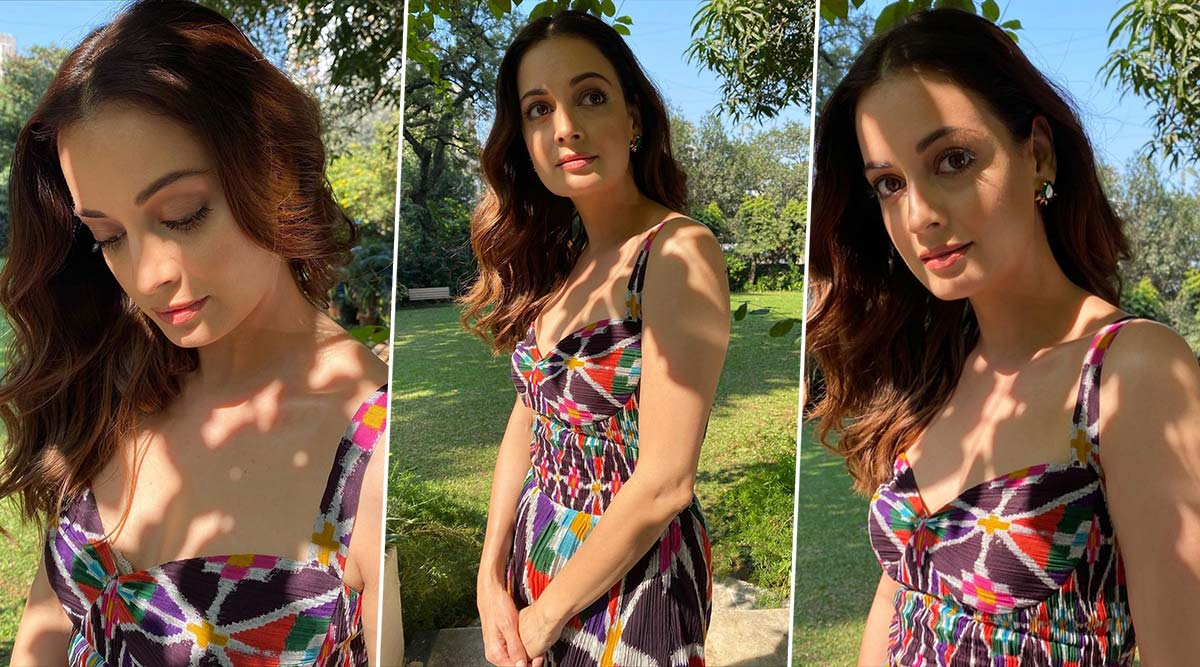Dia Mirza Shows Us How Sometimes All That We Need Is a Little Splash of Colours!