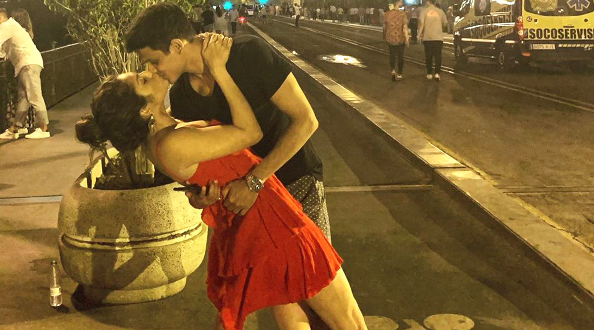 Kiss of Love! Drashti Dhami Wishes Hubby Neeraj Khemka on His Birthday With a Throwback Lip-Lock Pic and We Are All Hearts for It
