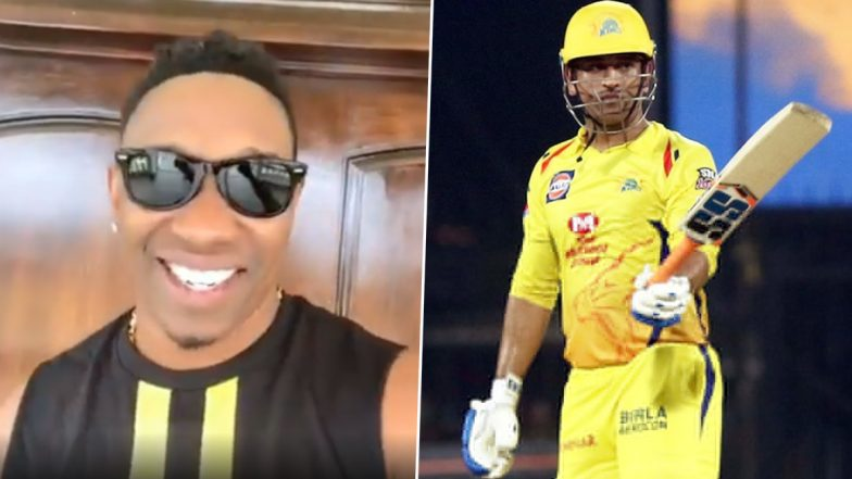 MS Dhoni Birthday: Dwayne Bravo Releases 'Helicopter 7' Song As He Pays Tribute to the CSK Captain (Watch Video)