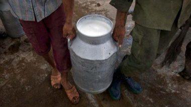 80,000 Litres of Milk Thrown in Drain in Kerala