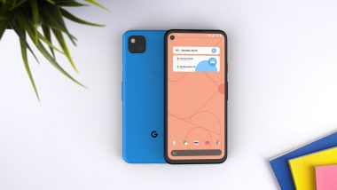 Google Pixel 4a Smartphone Likely To Go on Sale Starting May 22; Expected Prices, Features & Specifications