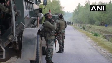 Jammu And Kashmir: Security Forces Kill 2 Terrorists in Anantnag's Bijbehara, Search Operation Underway