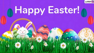 Easter 2020 Wishes for Employees: WhatsApp Stickers, Facebook Greetings, GIF Images, SMS and Greetings to Send Your Office Folks