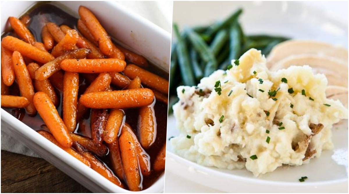 Easter 2020 Dinner Side Dish Recipes: From Honey Glazed Carrots to Garlic Mashed Potatoes, Watch Videos to Cook Tasty Traditional Side Dishes on Sunday