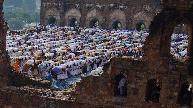 Will Muslims be Allowed to Offer Eid Prayers at Idgahs? Ex-Union Minister C Ibrahim Asks Karnataka CM BS Yediyurapaa to 'Take Suitable Decision'