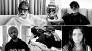Family: Amitabh Bachchan, Rajinikanth, Mohanlal, Priyanka Chopra and Other Biggies Team Up For a Beautiful Short Film On COVID-19 (Watch Video)