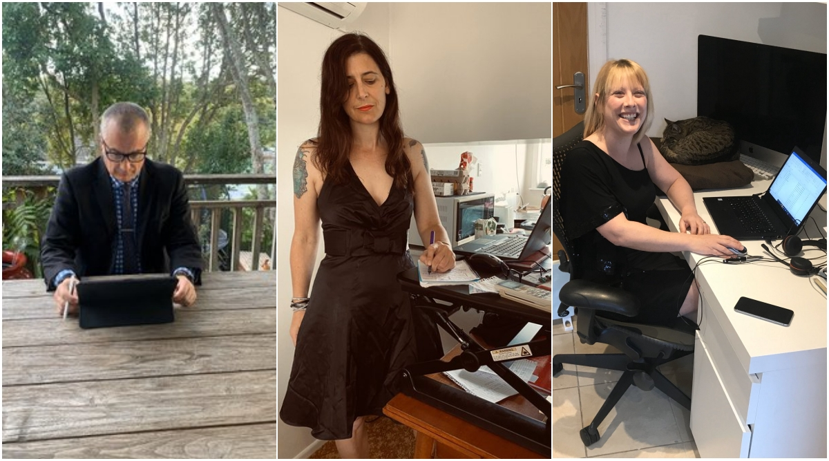 #FormalFridays: People in Australia Work From Home Nicely Dressed Up on Every Friday During Quarantine (See Pictures)